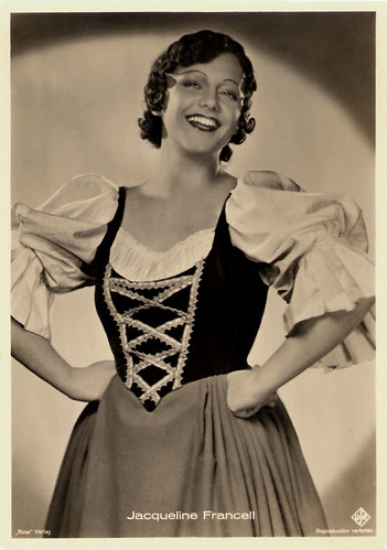 Jacqueline Francell in Le baron tzigane (1935)