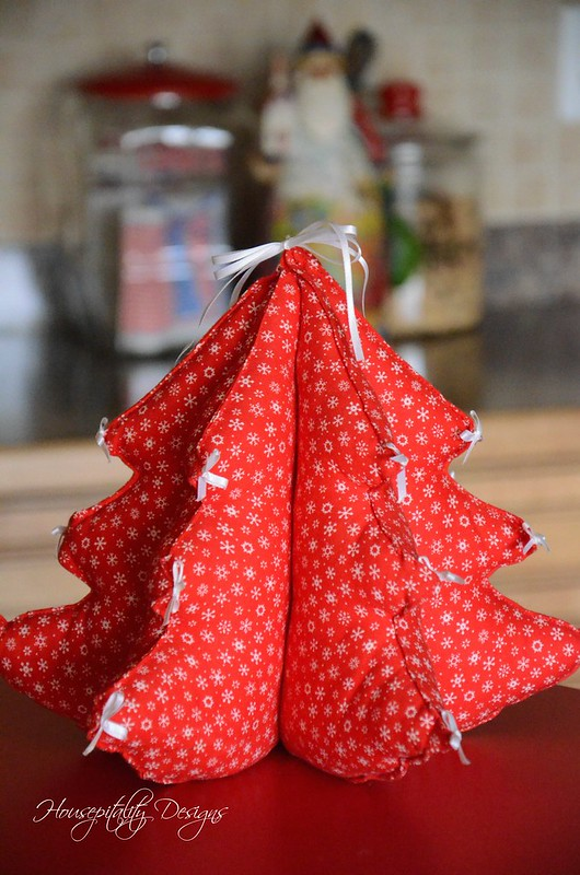 Fabric ChristmasTree-Housepitality Designs