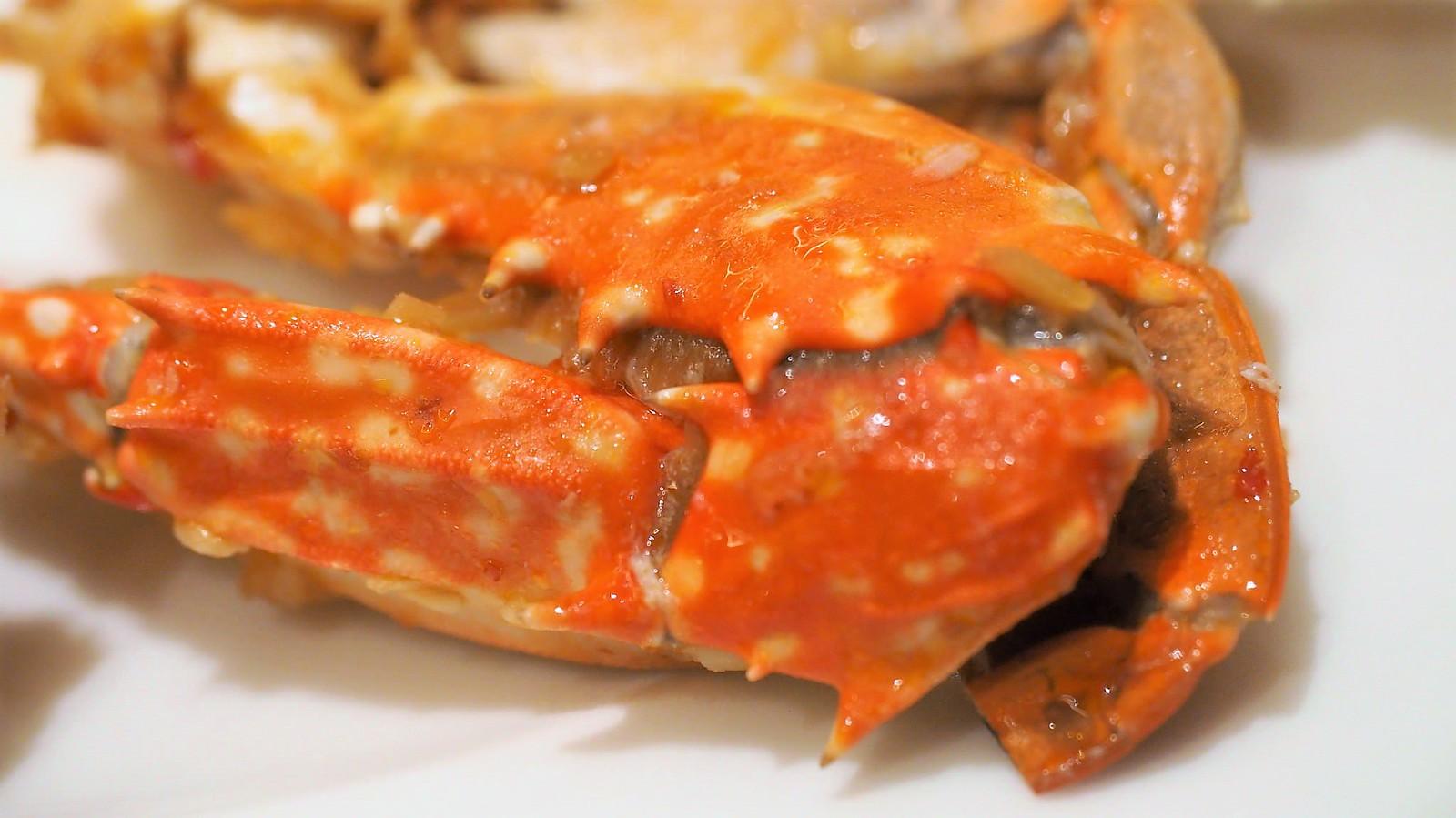 Chili soft-shell crab