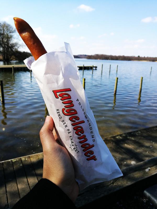 danish hotdog