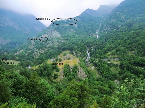 Vallo Alpino: Caposaldo Villanova (Bobbio Pellice)
