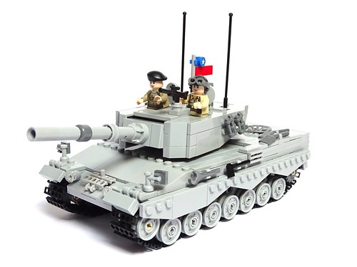 Leopard 2A4 Main Battle Tank, Chilean Army. 1:40 Scale LEGO Model