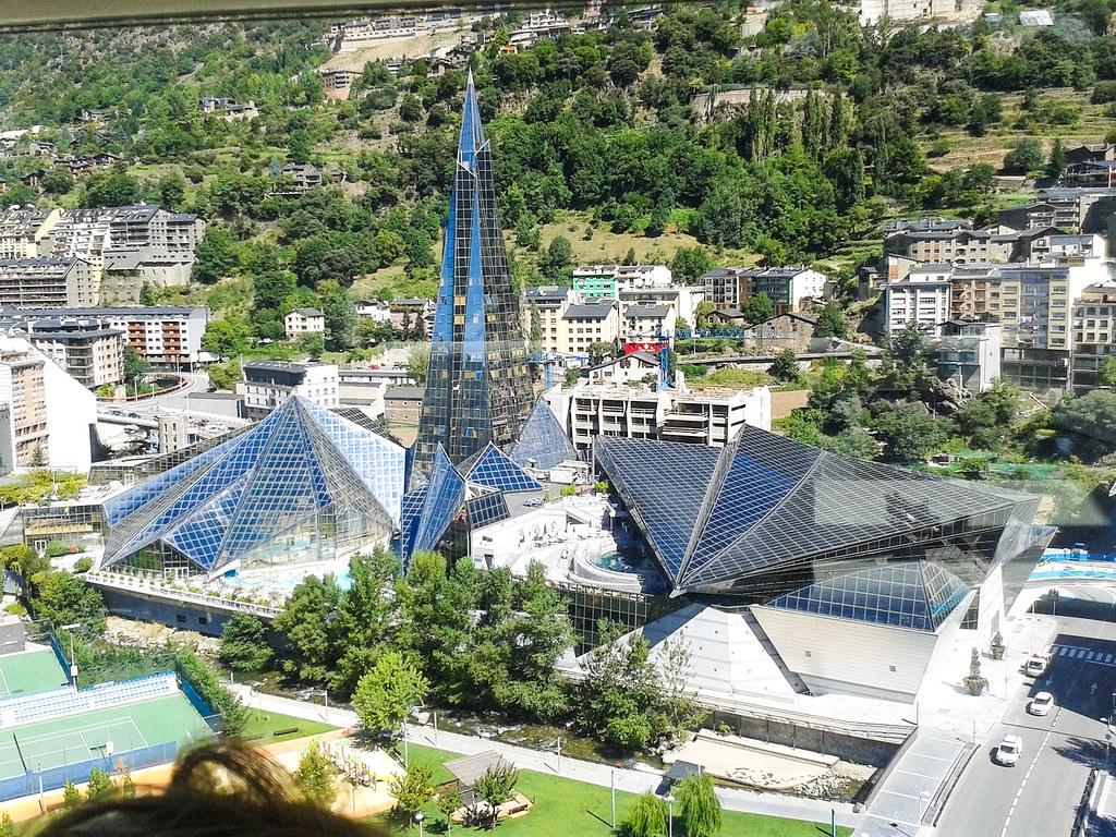 Balnearios y spas de Andorra - Balneario de Caldea