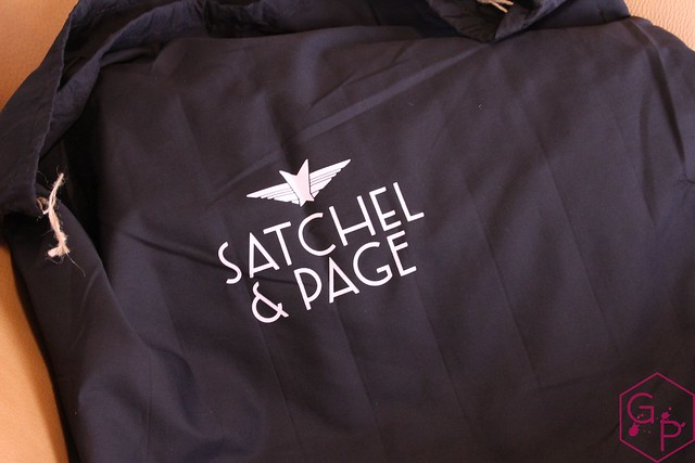 Review @SatchelandPage Brown Leather Slim Mailbag 10
