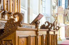Curieux Pupitres de l'Abbaye d'Ebersmunster