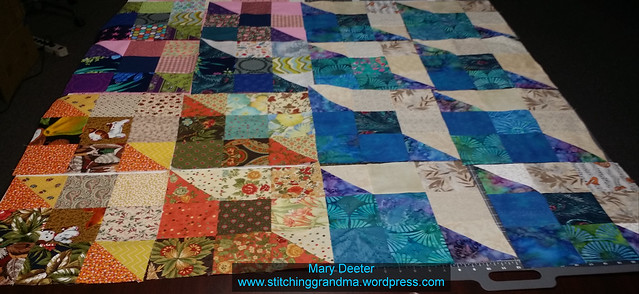Blocks for Thomas Fire quilts