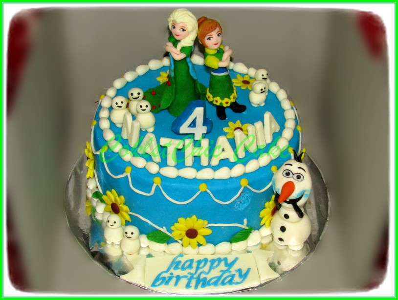 Cake Disney Frozen NATHANIA 15cm