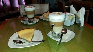 Coffee time at Toscano Café-Restaurante.