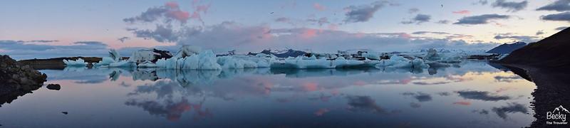 Iceland Glacier Lagoon - Jokulsarlon