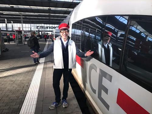 Premierenfahrt ICE nach Berlin