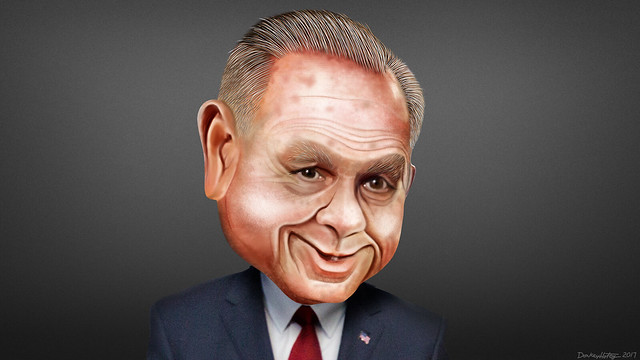 Roy Moore - Caricature