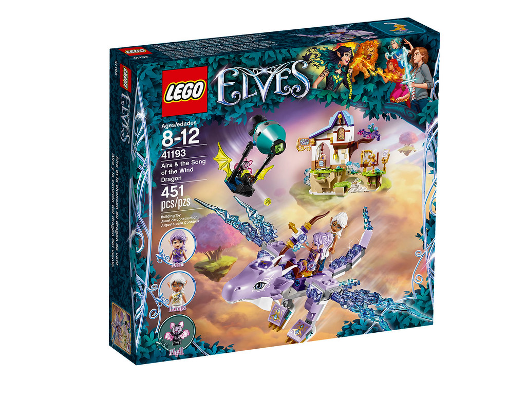 LEGO Elves 41193 - Aira & the Song of the Wind Dragon