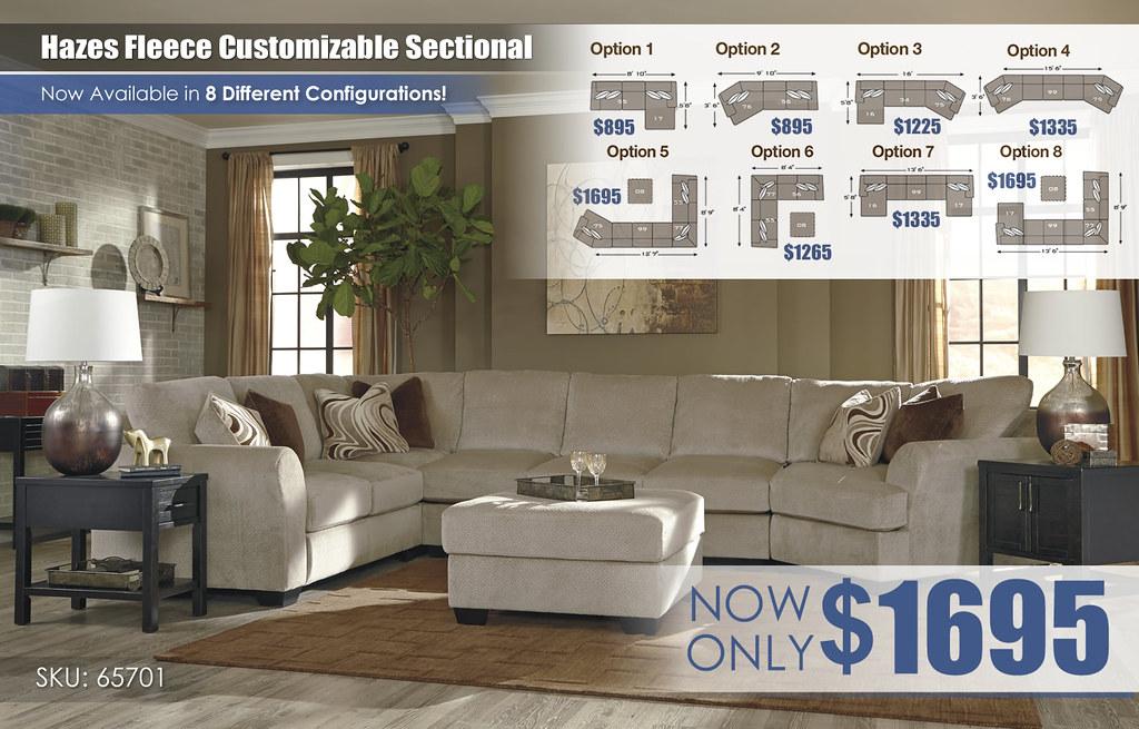 Hazes Fleece Customizable Options Sectional_65701-55-77-99-75-08-T780