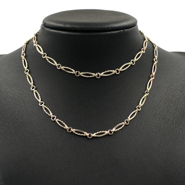 Gold Fancy Antique Necklaces  for Sale