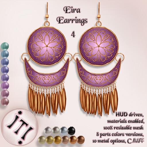 !IT! - Eira Earrings 4 Image - TeleportHub.com Live!