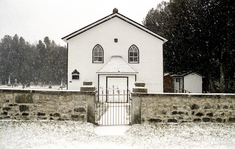 White Church in Winter