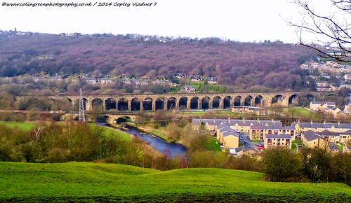 Copley Viaduct and Railway Bridge.