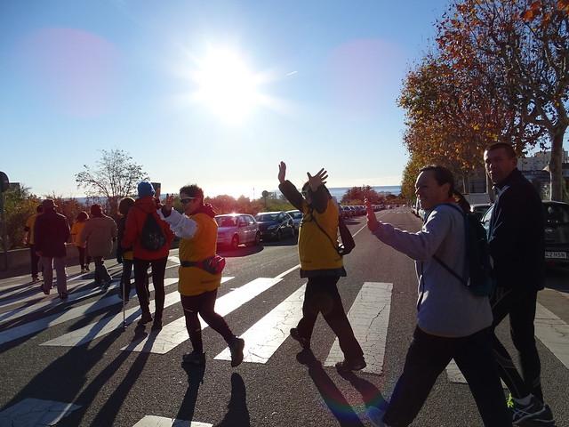 Caminada amb La Marató de TV3
