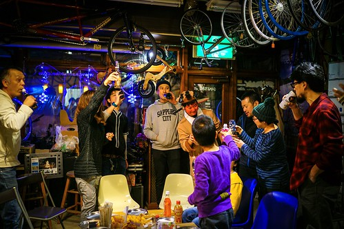 X'mas party at Samsbike.