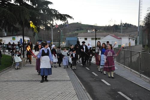 Olentzeroren etorrera Zizurkilen, 2017