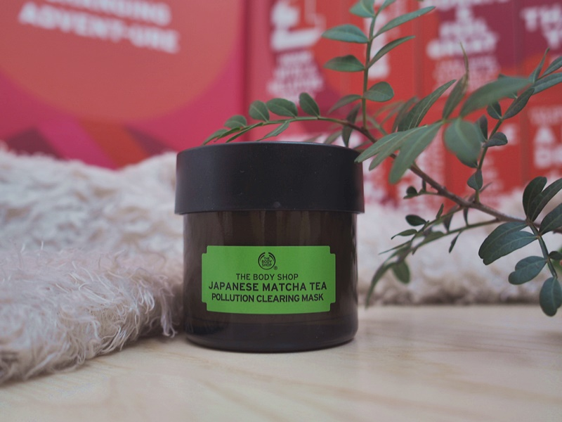the body shop japanese matcha tea kasvokuorinta