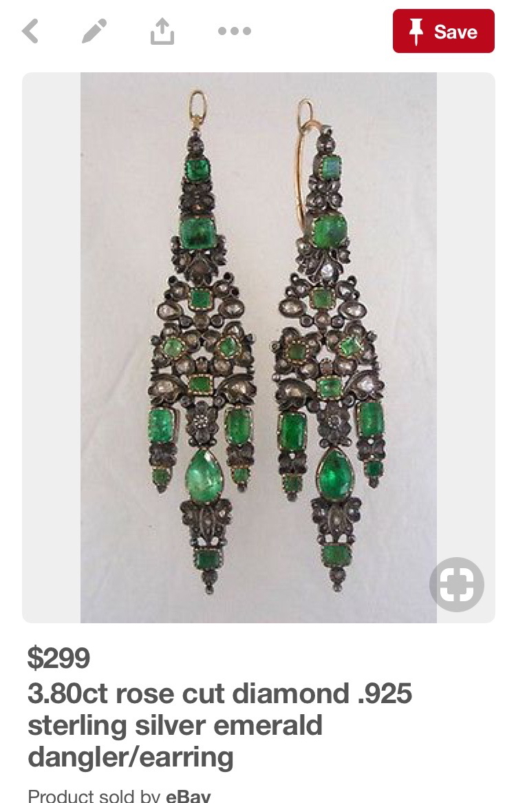 Iberian style earrings