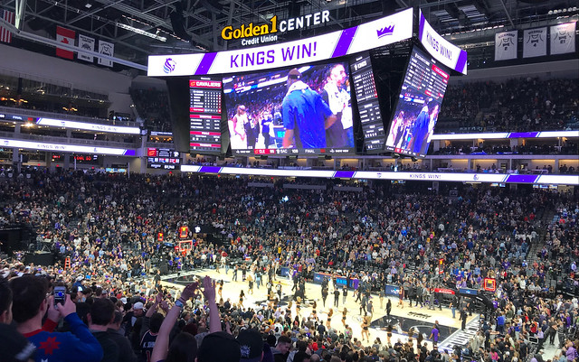 2017 Kings versus Cavs
