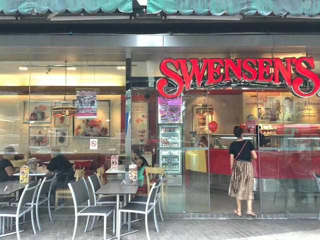 どーーしてもパフェが食べたくてアイスクリームショップのSwensenへ