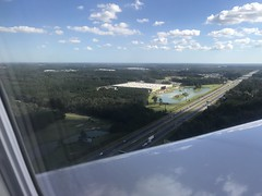 Flying into Savannah