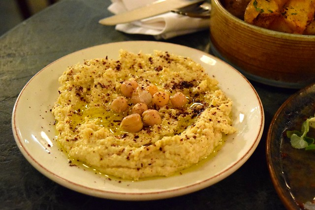 Hummus at Yosma, Marylebone #mezze #marylebone #london