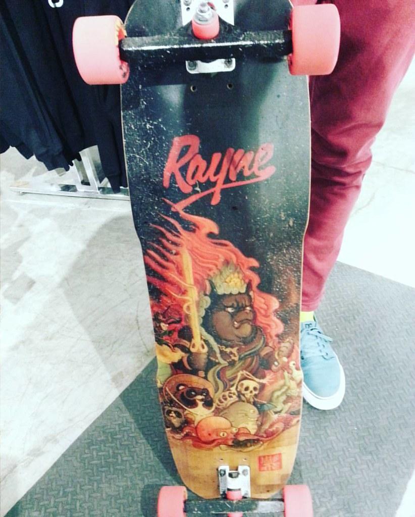 """A Rayne fave! Exorcist 34 """"100 Demons"""" #raynelongboards #labrats"""