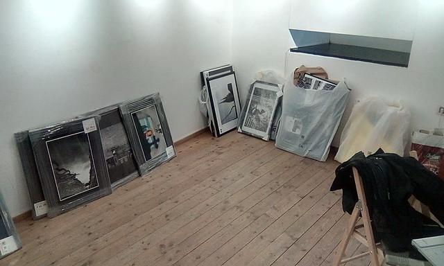 Preparing the exhibition