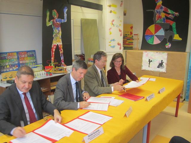 Signature d'une convention de partenariat entre l'agence régionale de santé Nouvelle-Aquitaine et les académies de la région académique Nouvelle-Aquitaine