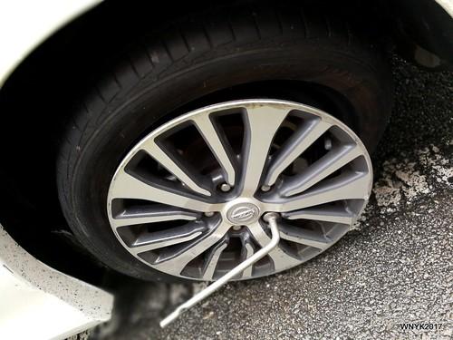 Burst Tyre I
