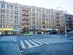 Intersection of Nagle Avenue and Thayer Street, Fort George, New York City