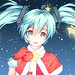 """Hatsune Miku Merry Christmas"" by darkotaku123"