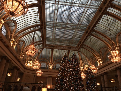 The Palace Hotel at Holiday time