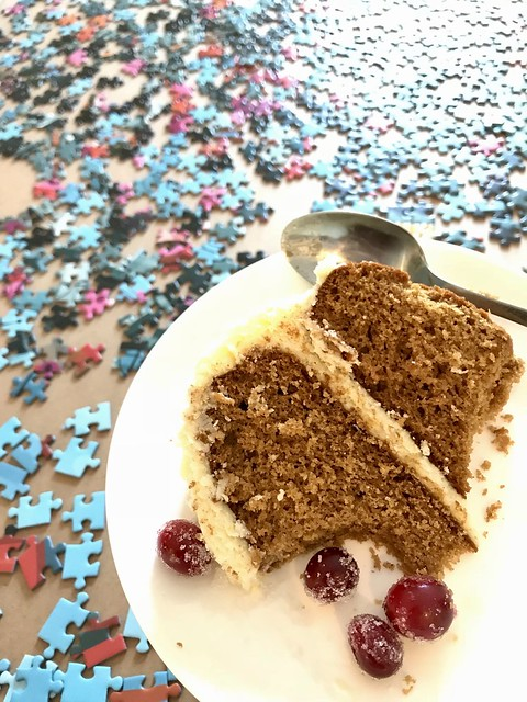 Cake and puzzles