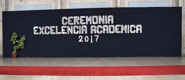 Ceremonia Excelencia Académica 2017