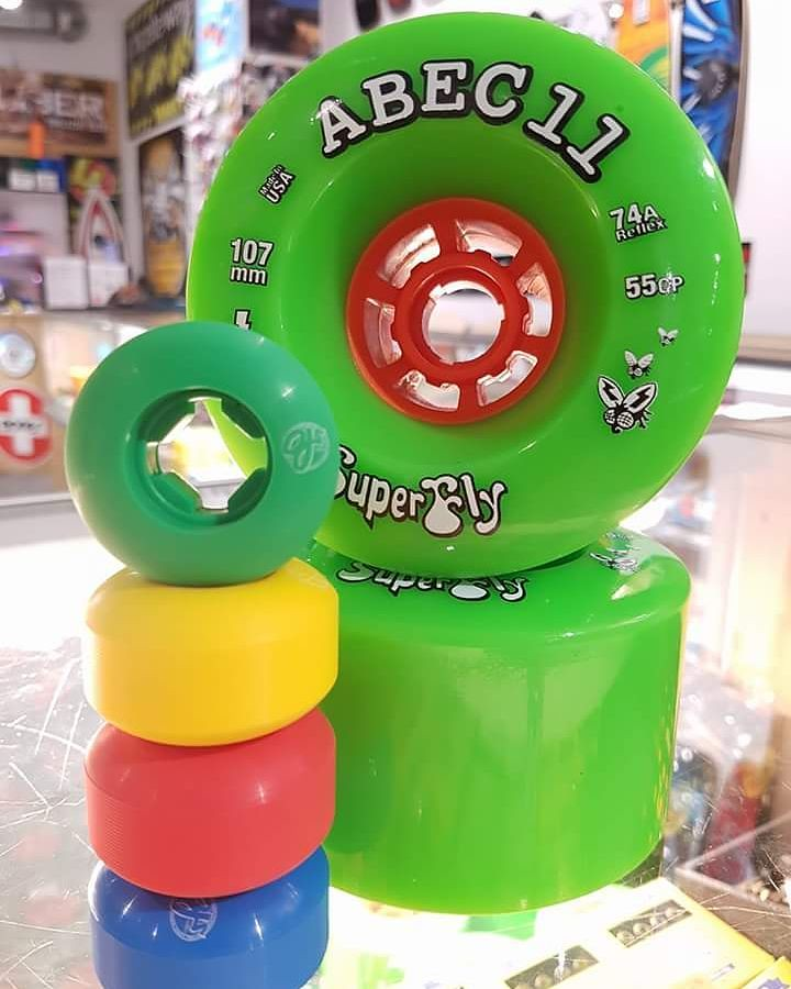 42mm to 107mm. No matter what size you want to roll, we've got you covered. #ojwheels #abec11 #urethaneaddicts