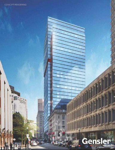 One Post Office Square Renderings