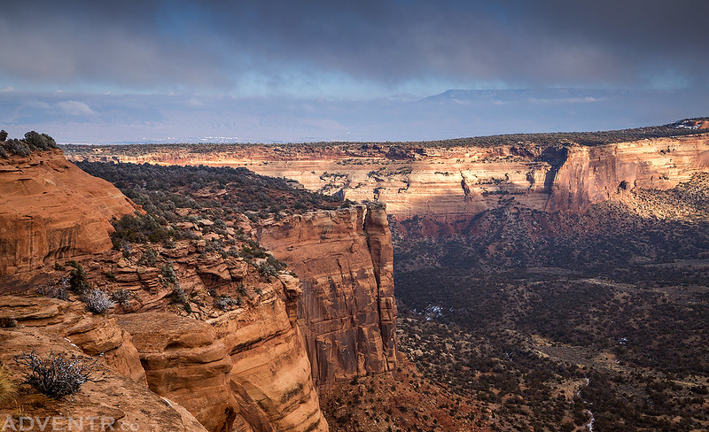 Monument Canyon Light