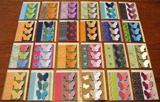 More Butterfly Cards (Meer Vlinderkaarten)