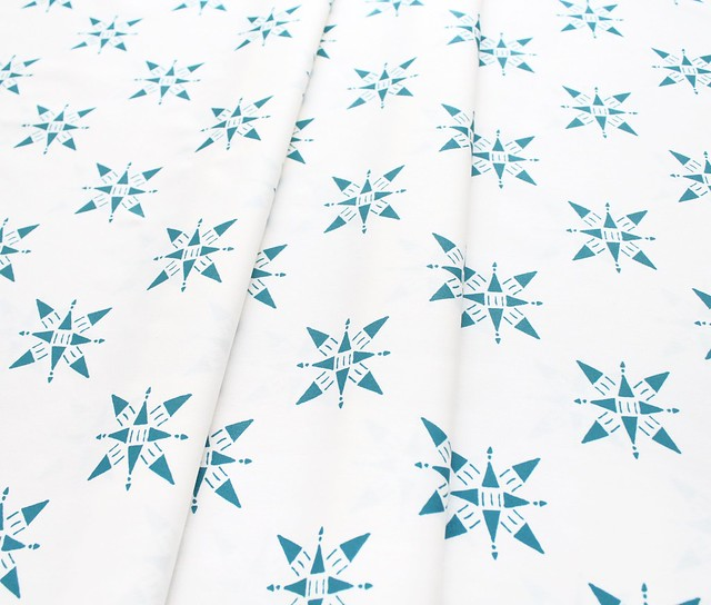 Art Gallery Fabrics Love Story Compassion Teal