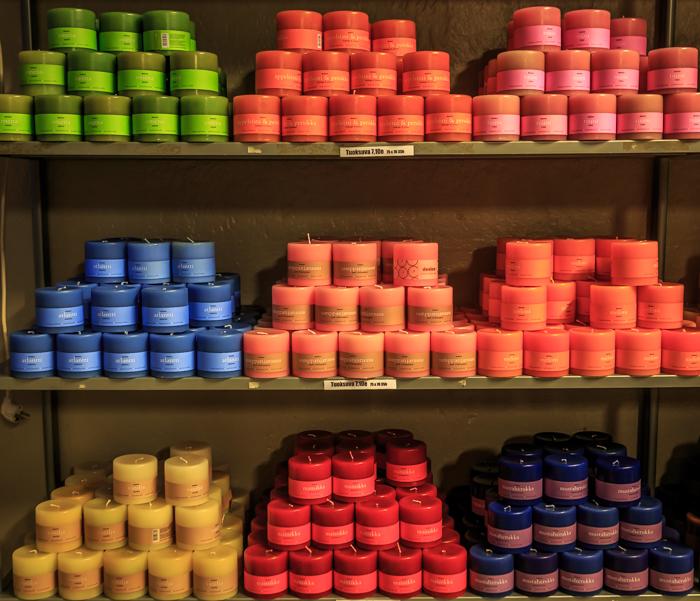 Fiskars Village Desico käsintehty kynttilä kynttilätehdas tuoksukynttilä