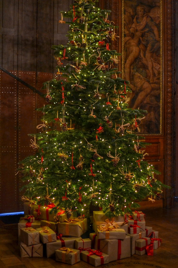 Christmas tree Kingston Lacy 2017