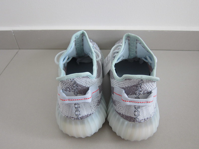 Adidas Yeezy Boost 350 v2 (Blue Tint) - Back