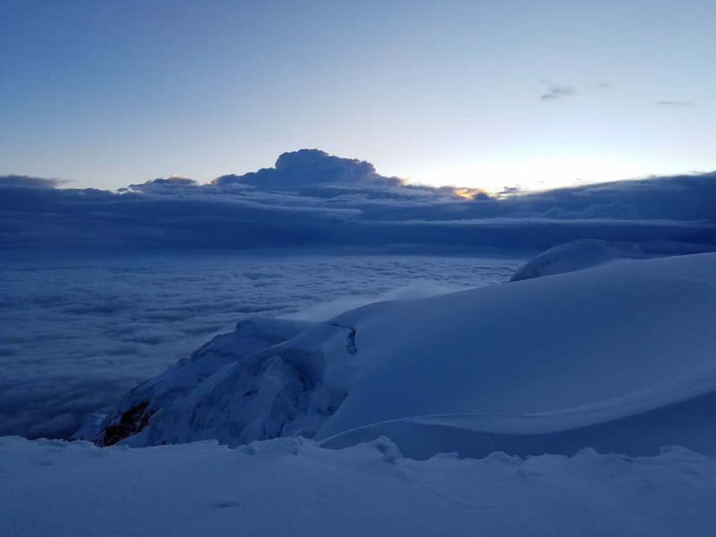 Cayambe • Above the Clouds