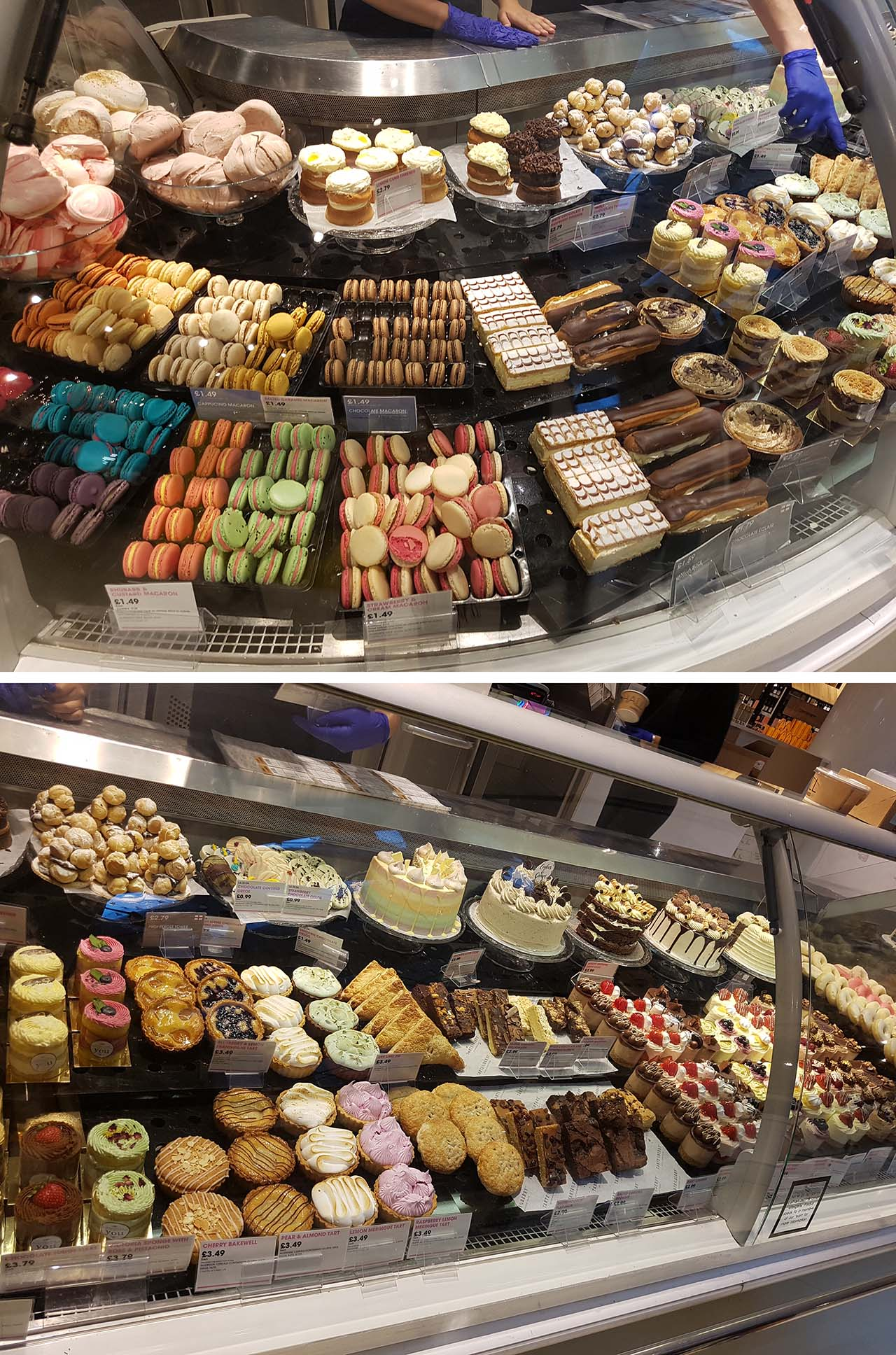My Autumn Beauty Day: Catching Up With Favourite Brands [Part 2] - Selfridges Dessert Stand: Whilst not beauty related, I could not leave Selfridges without a stop at the Selfridges Dessert Stand! I LOVE this part of the Selfridges Food Hall. Besides makeup and beauty, food is another passion of mine and I especially love desserts! Food is another beautiful aspect of life that I enjoy so after eyeing everything up I decided to buy some macaroons and mini sponge cakes!