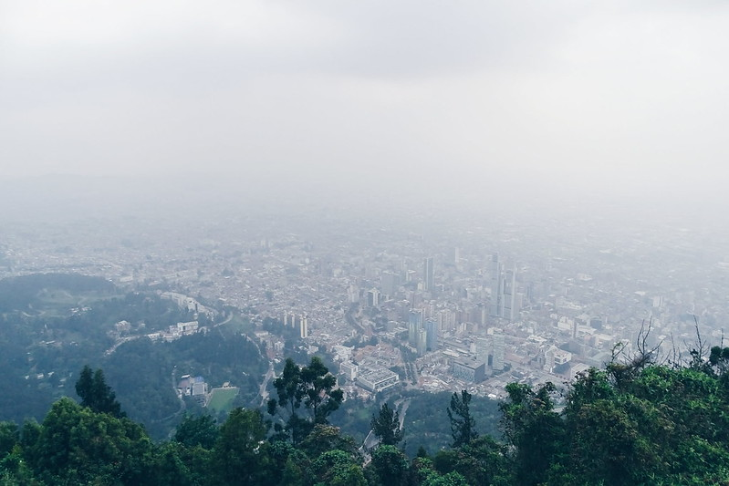 Cerro de Monserrate, Bogotá • COL